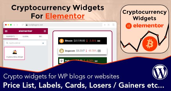 crypto-widgets-elementor